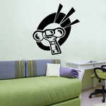 Weight Lifting Wall Decal - Vinyl Decal - Car Decal - CDS016