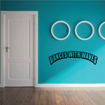 Dances with waves Decal