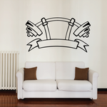 Weight Lifting Wall Decal - Vinyl Decal - Car Decal - CDS021