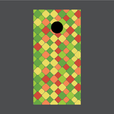 Geometric Pattern Cornhole Board Wraps
