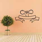 Weight Lifting Wall Decal - Vinyl Decal - Car Decal - CDS025