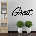 Great Wall Decal - Vinyl Decal - Car Decal - Business Sign - MC743