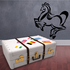 Curve Stroke Horse Decal