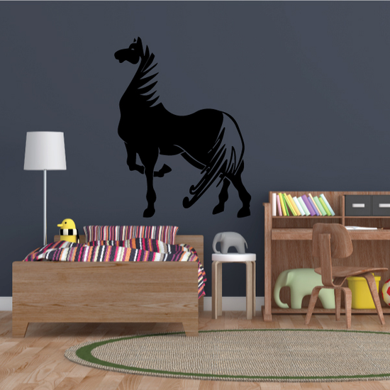 Posing Show Horse Decal