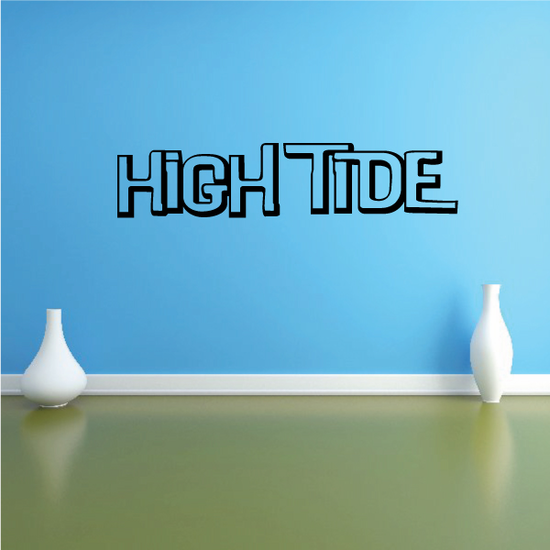 High Tide Decal