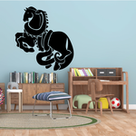 Snake Wrapping Horse Decal
