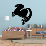 Thick Tail and Mane Horse Decal