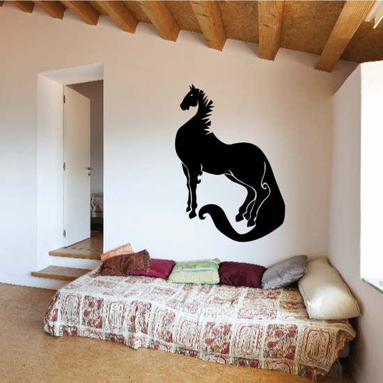 Long and Elegant Horse Decal