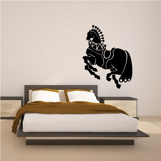 Armored Roman Horse Decal