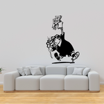 Soccer Wall Decal - Vinyl Decal - Car Decal - Bl193