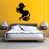 Majestic Flowing Horse Decal
