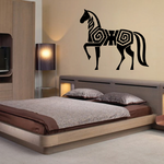 Geometric Body Horse Decal