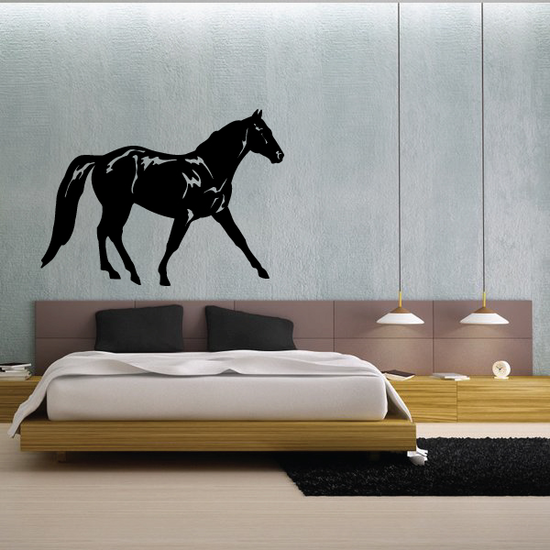 Starting Trot Horse Decal