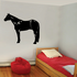 Beautiful Standing Horse Decal