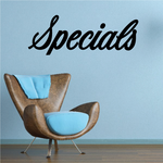 Specials Wall Decal - Vinyl Decal - Car Decal - Business Sign - MC785