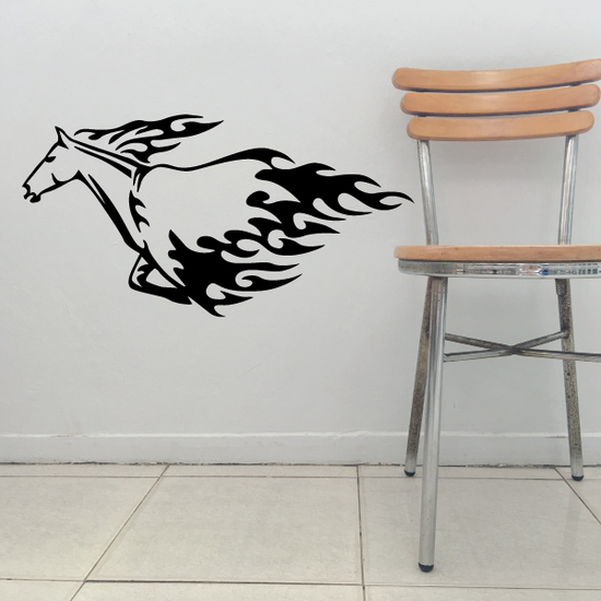 Standing Horse Drinking Decal