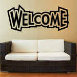 Welcome Wall Decal - Vinyl Decal - Car Decal - Business Sign - MC793