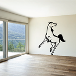 Horse Leap Turning Decal