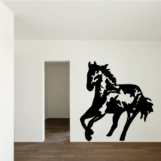 Running Stallion Decal