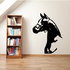 Stallion Head Horse Decal