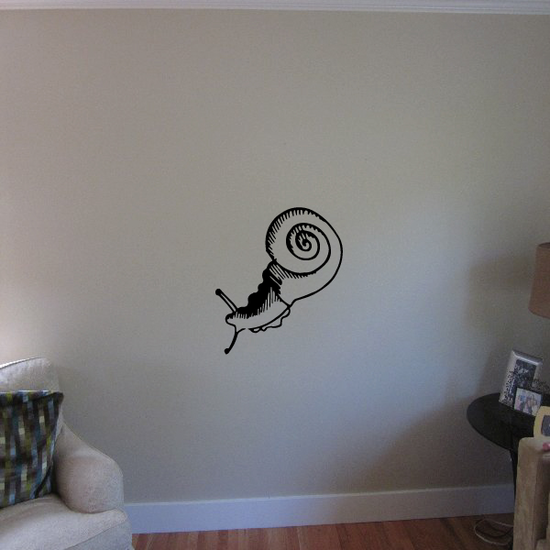 Great Snail Decal