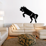 American Quarter Horse Jumping Decal