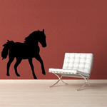 Trotting Thoroughbred Horse Decal