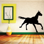 Galloping Cleveland Bay Horse Decal