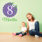 8 Month Wall Decal