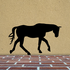 Walking Cleveland Bay Horse Decal