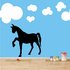 Steady Trotter Horse Decal