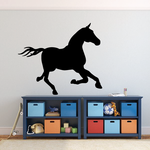 Galloping Horse Decal