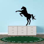 Standing Hind Legs Horse Decal
