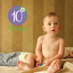 10 Month Wall Decal