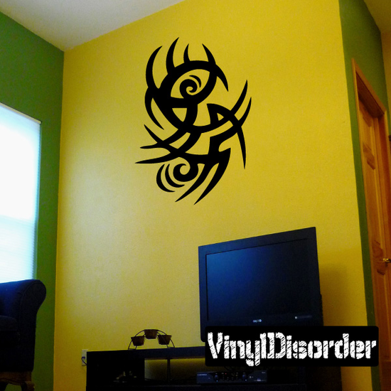 Classic Tribal Wall Decal - Vinyl Decal - Car Decal - DC 029