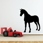 Proud Standing Horse Decal