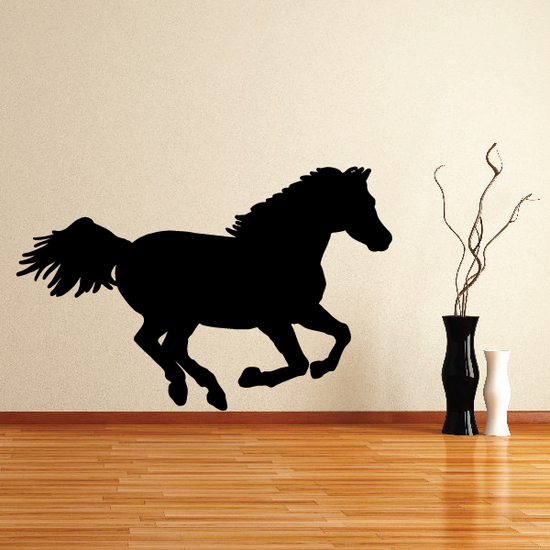 Strong Running Horse Decal