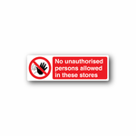 NO Safety Sign Wall Decal - Vinyl Sticker - Car Sticker - Die Cut Sticker - CD049