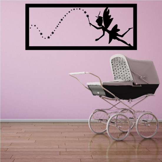 Fairy with Pixie Dust Decal