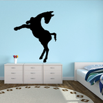 Jumping Foal Decal