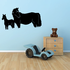 Protective Horse and Foal Decal