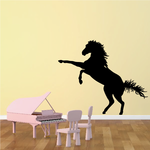 Boxing Standing Horse Decal