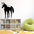 Standing Stallion Horse Decal