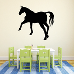Stomping Horse Silhouette Decal
