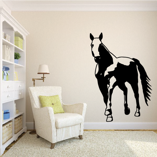 Approaching Stallion Decal