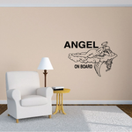 Angel On Board Decal