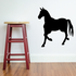 Handsome Horse Walking Silhouette Decal