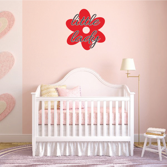 Little Lady Wall Decal