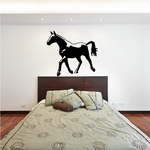 Handsome Strutting Horse Decal