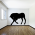 Bowing Horse Silhouette Decal
